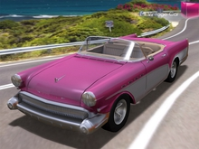 Full Perm Mesh Scripted and Animated Retro Car