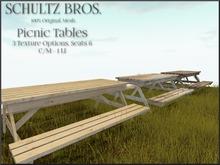 [Schultz Bros.] Picnic Tables BOXED (OPEN ME)