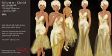 Nicky Ree Hand Drawn Gowns *NR* Silva in Gold