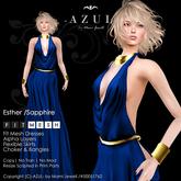 -AZUL- Esther /Sapphire