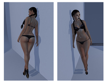 :::L.Pearl:::Poses Against wall 24, 24b & 24c UNISEX