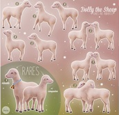Fawny - Dolly the Sheep - Mount 9 - RARE