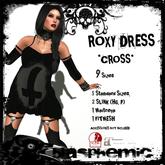 BLASPHEMIC - ROXY DRESS - CROSS (boxed)