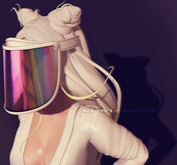 Pink Acid No Pictures Please Face Visor Shield Pack ALL