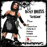 BLASPHEMIC - ROXY DRESS - SCREAM (boxed)