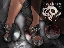 (Poisoned Diamond) Round Saw Shoes BLOOD (Maitreya)