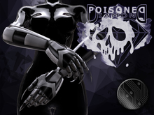 (Poisoned Diamond) CYBER ARM BLACK