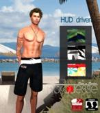 [Marquesse] Men Beach Trunks (Add&Click)