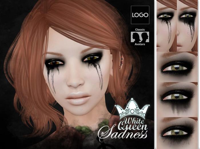 ::White Queen:: - Sadness eyeshadow - omega
