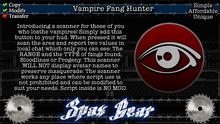 SpaxGear Vampire Fang Hunter