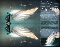Asgard Wings and Headpiece Silver