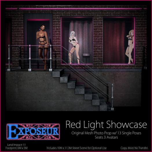Exposeur - Red Light Showcase