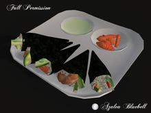 ~AB~ Sushi on a Plate ~ Full Perm ~ 1 LI