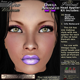 ~JJ~ Portrait Omega Head Appliers (Kira/blossom)