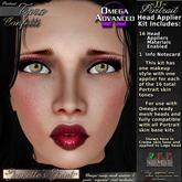 ~JJ~ Portrait Omega Head Appliers (Tara/confetti)