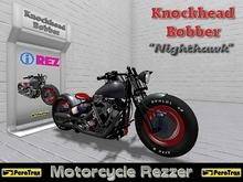 "(PeraTrax) - Motorcycle Rezzer ""Knockhead Bobber"" [Nighthawk]"