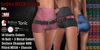 GAS [Ladies MESH Shorts Mia - 14x14x3 Colors with HUD]