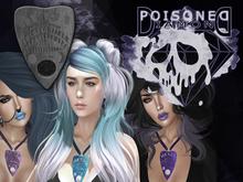 (Poisoned Diamond) Ouija Necklace FEMALE (BLACK)