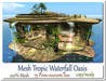 Mesh Tropic Waterfall Oasis 75 Prim=20x20m Size copy-mody