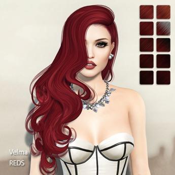 TRUTH HAIR Velma -  reds