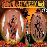 Tattoo Halloween, black