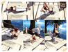 Yoga lazy life poses chez moi