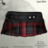 DE Designs - Lyra Skirt Plaid - Red
