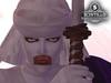 Scintillo Makoto Shishio Full avatar outfit - Japanese samurai clothing clothes purple kimono bandages burn victim