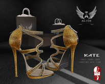 ::ALTER:: Kate Heels Gold SLINK