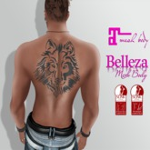 TSB ::: tattoo unisex wolf
