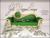 Boudoir Gold Digger Chaise Lounge PG