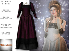 The Muses ~ Victoria . Gown . Wine
