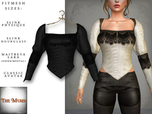 The Muses ~ Victoria . Top . Black