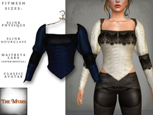 The Muses ~ Victoria . Top . Blue