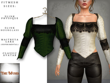 The Muses ~ Victoria . Top . Green
