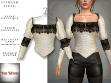 The Muses ~ Victoria . Top . Ivory