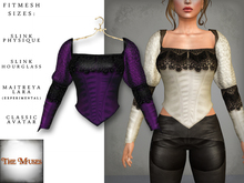 The Muses ~ Victoria . Top . Purple