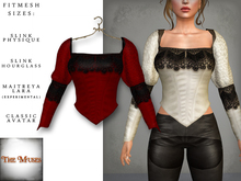 The Muses ~ Victoria . Top . Red