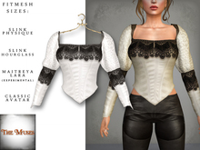 The Muses ~ Victoria . Top . White