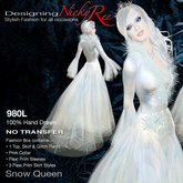 Nicky Ree Gowns - Snow Queen Gown