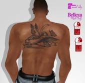 TSB ::: Tattoo butterfly woman