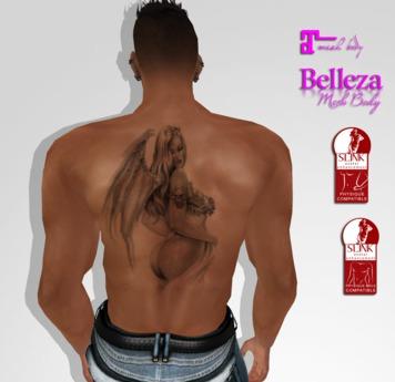 TSB ::: Tattoo woman the angel.