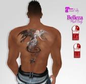 TSB ::: tattoo unisex the kiss of the werewolf