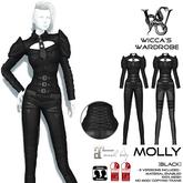 Wicca's Wardrobe - Molly [Black] [BOXED]