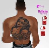 TSB ::: Unisex Women Tattoo sewn into his mouth