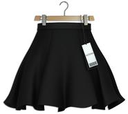 Asteria - Taylor Skirt - [Maitreya-HG-Legacy] - Black