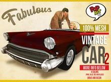 Pop Art Store - Vintage Car 2 - Animated