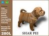 [TomatoPark] Shar Pei Dog 3.3 ( roaming + wearable)