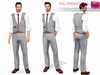 %50SUMMERSALE Full Perm MI Mens Double Breast Vest Outfit
