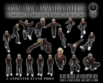 *zip* casual male AO animations override 1